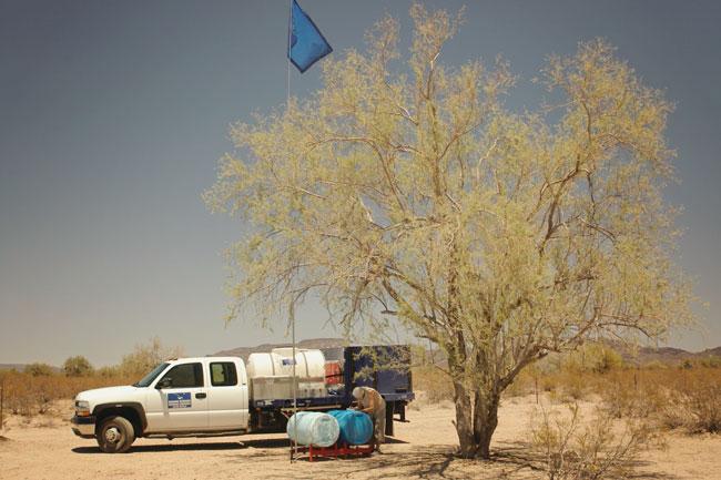 Humane Borders Water Stations Sonoran Desert